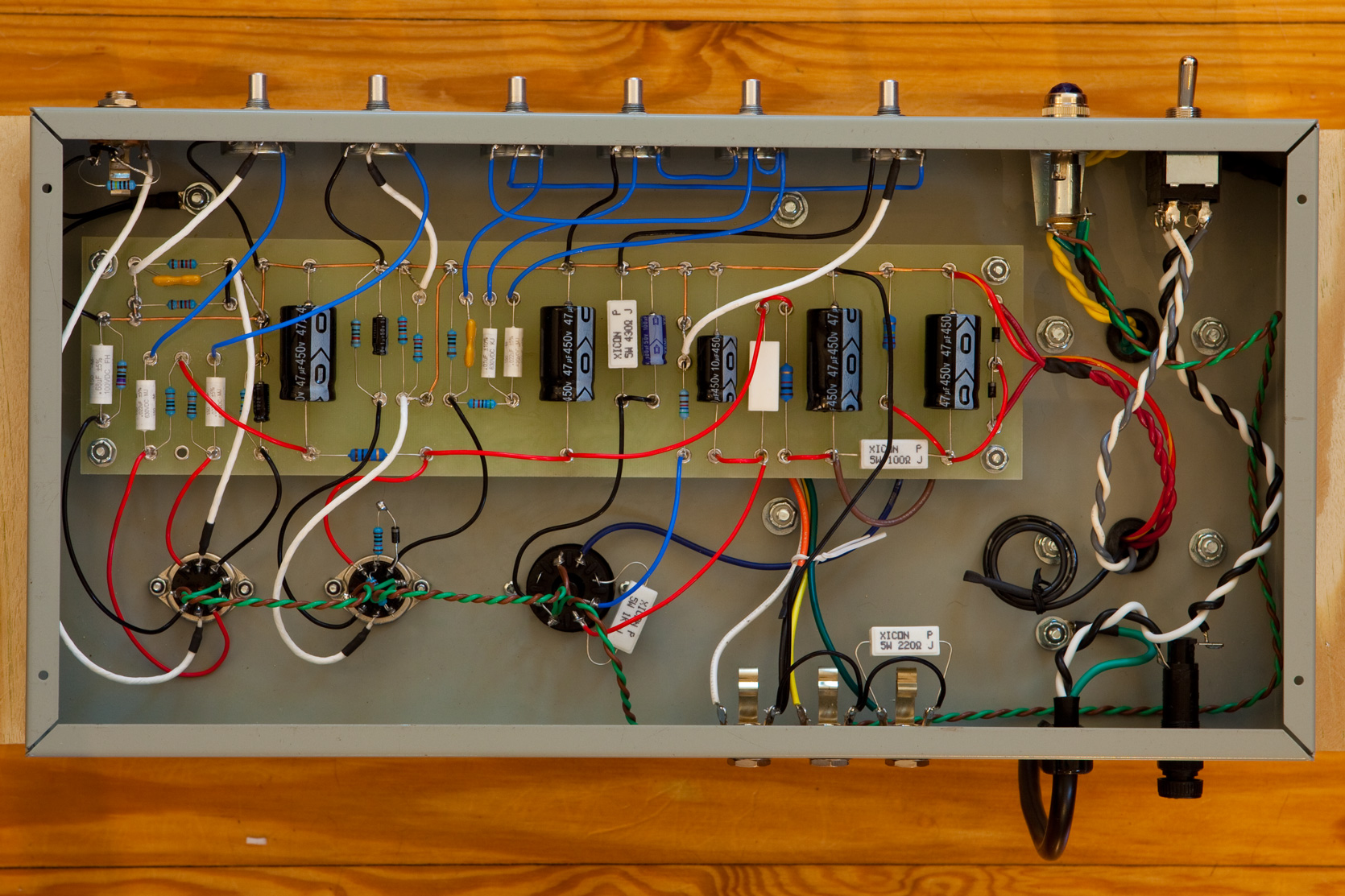 What Does Your Pedalboard Setup Include Cakewalk Forums Peavey Classic 50 Circuit Board Diagram Its Like A Small Patch Bay But You Use Solder Instead Of 1 4 Plugs